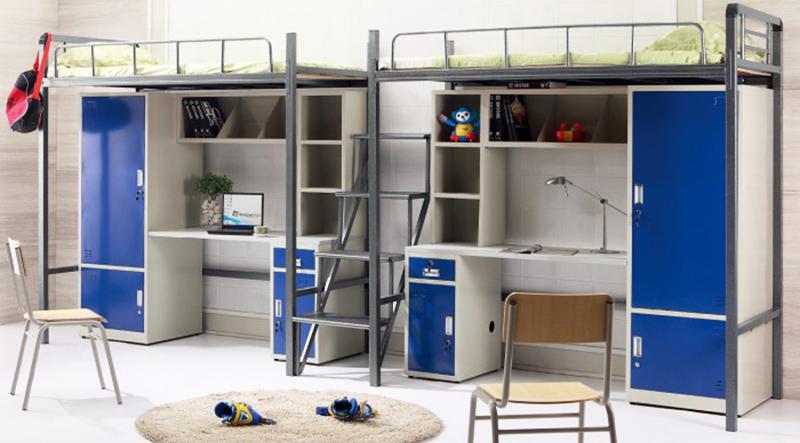 海发HF-GYC03双人连体公寓床